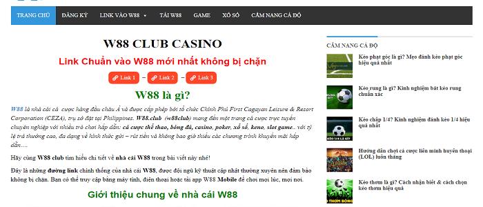 Avoiding Online Gambling Risks at w88 club